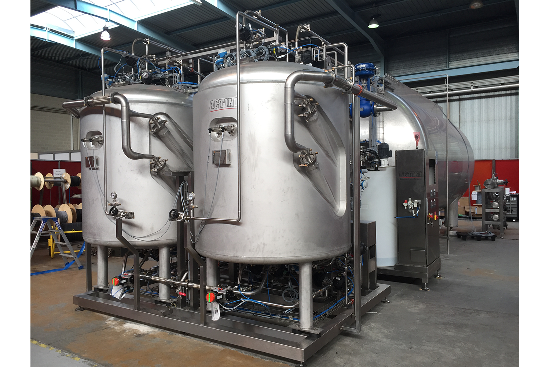 Système de décontamination d'effluent - BDS - 2x 1.600 L