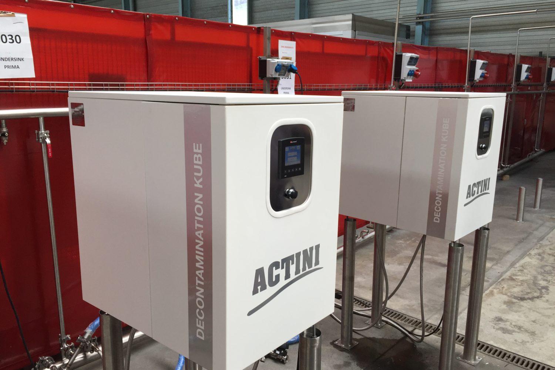 ACTINI - Kube - 70 lpd