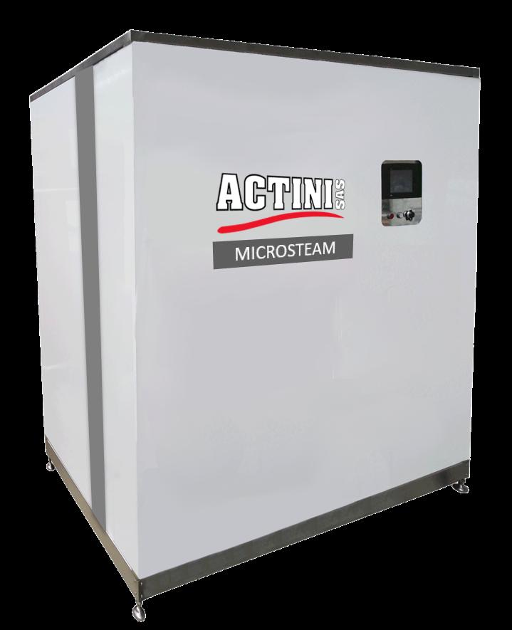 ACTINI - MICROSTEAM decontamination system