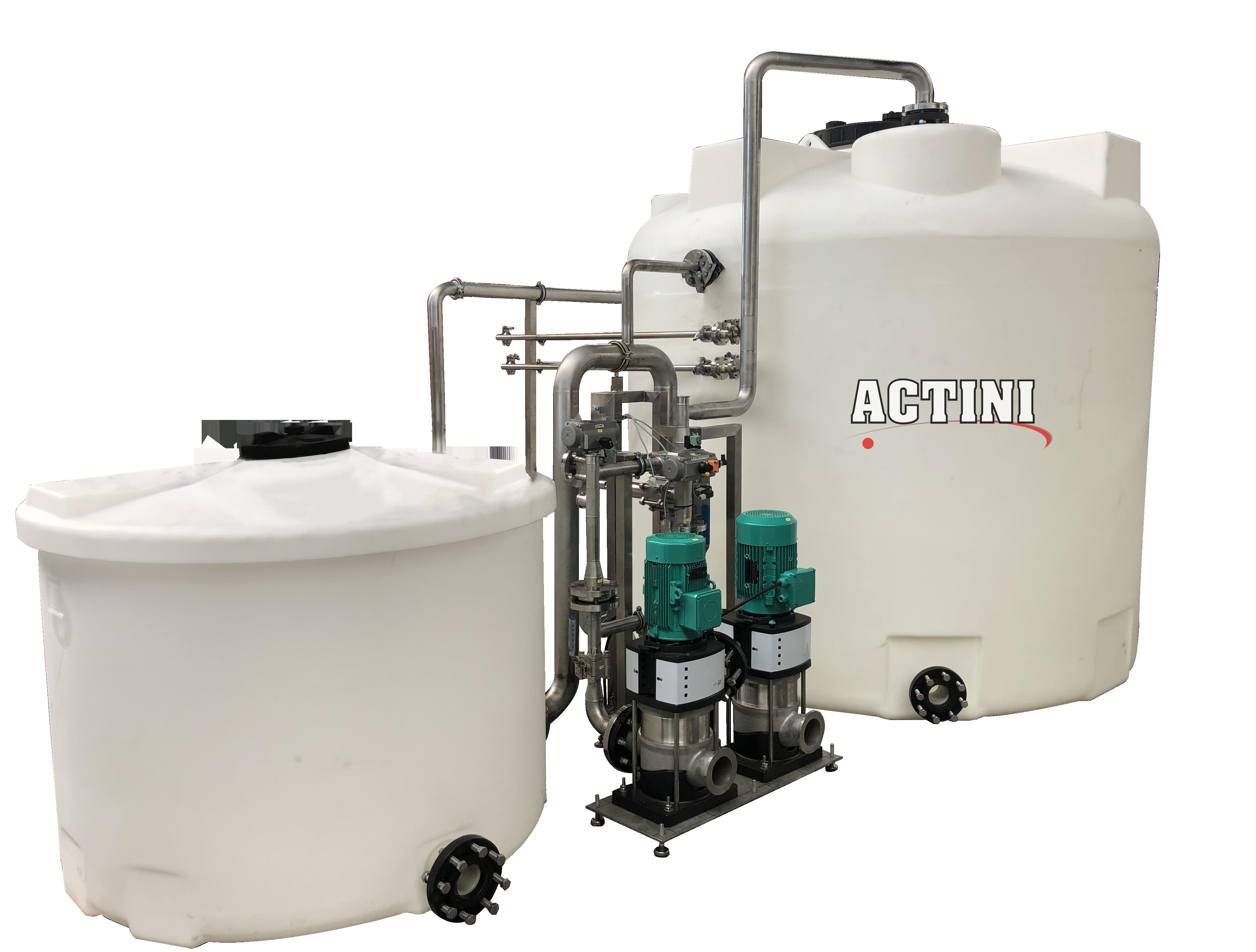 ACTINI - effluent continuous neutralization