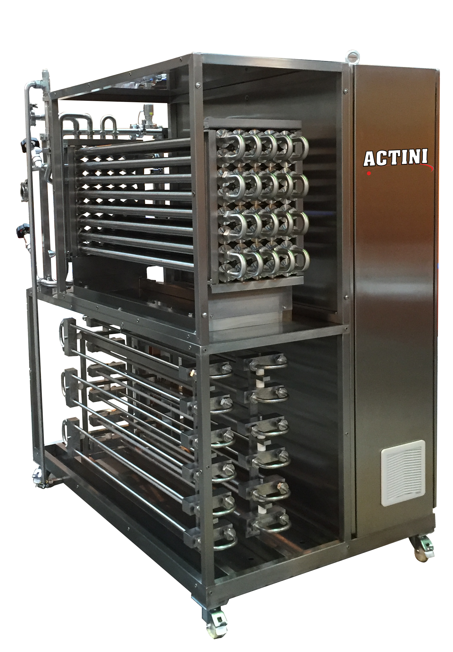 ACTINI Heat treatment pilot