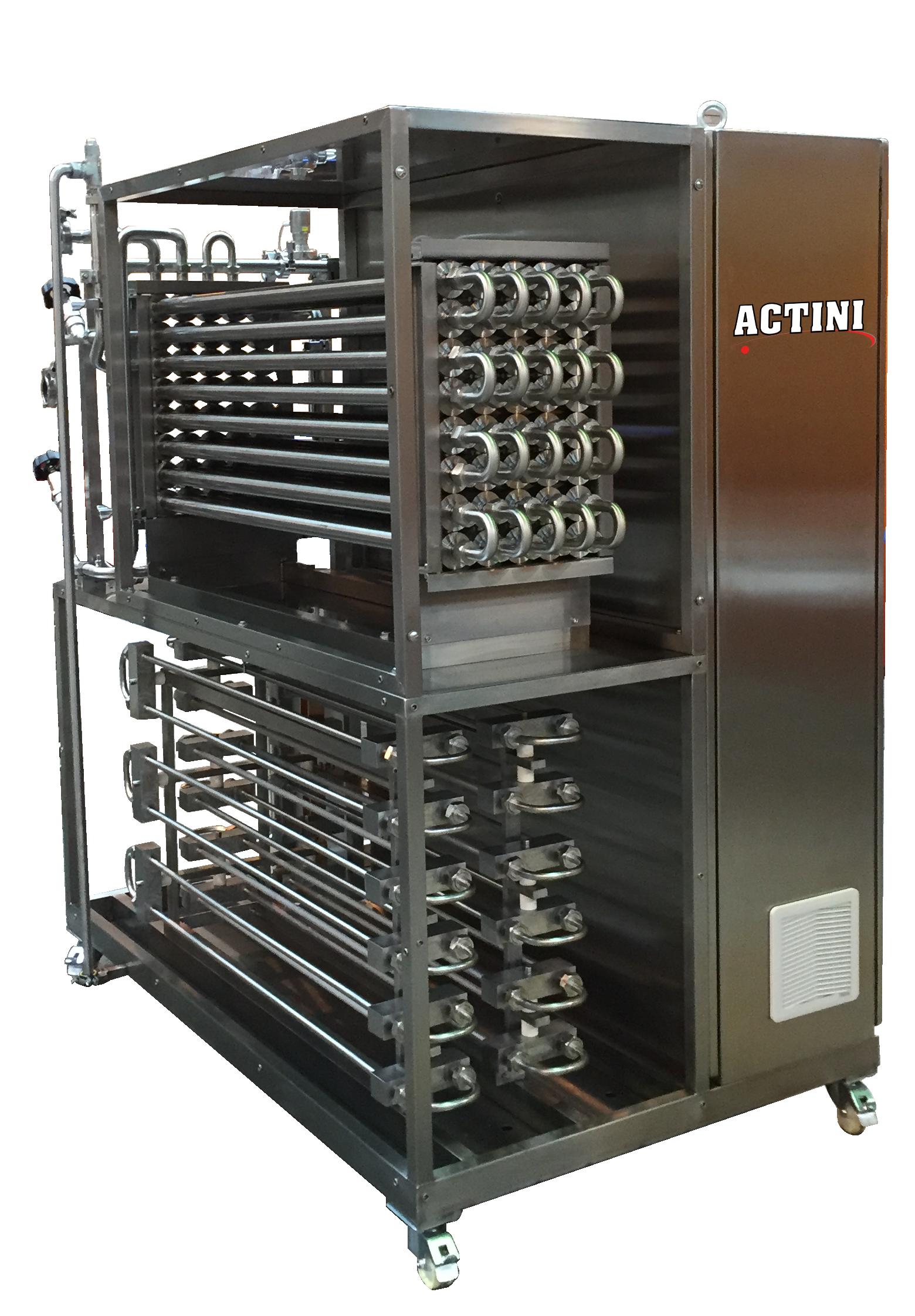 ACTINI Heat treatment pilot