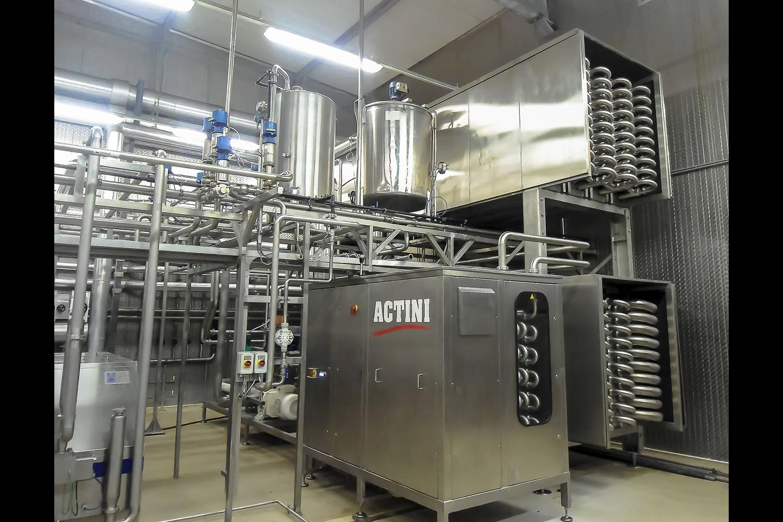 ACTINI - Pasteurisateur