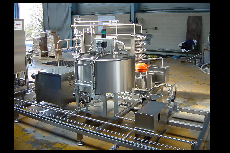 ACTINI - Pasteurisateur Agro