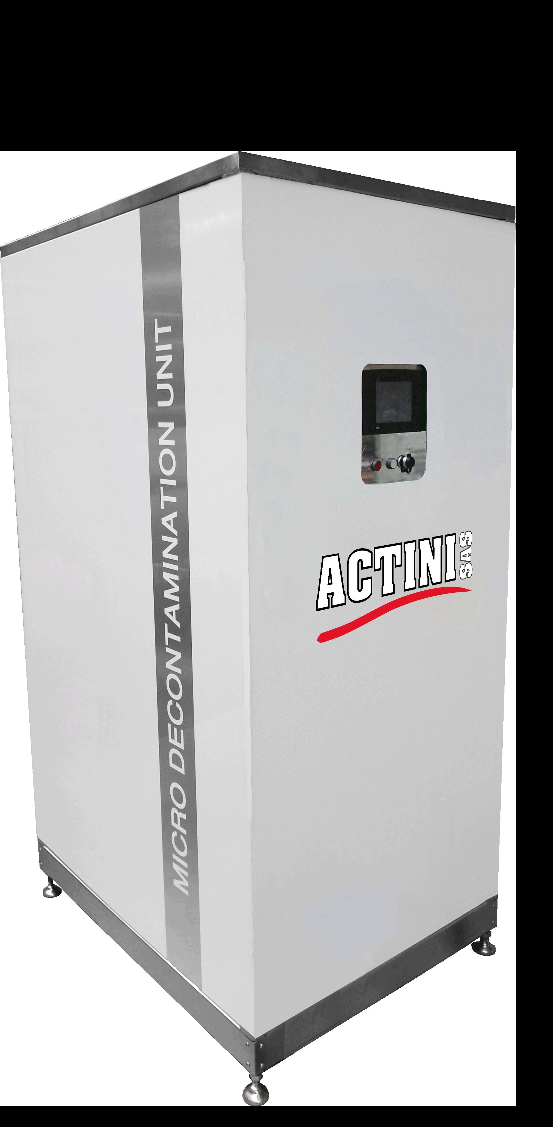 ACTINI - sistema de descontaminación MICRO