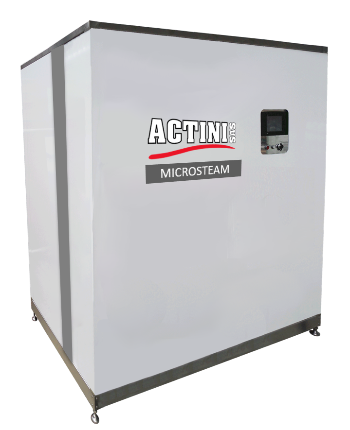ACTINI - MICROSTEAM decontamination system