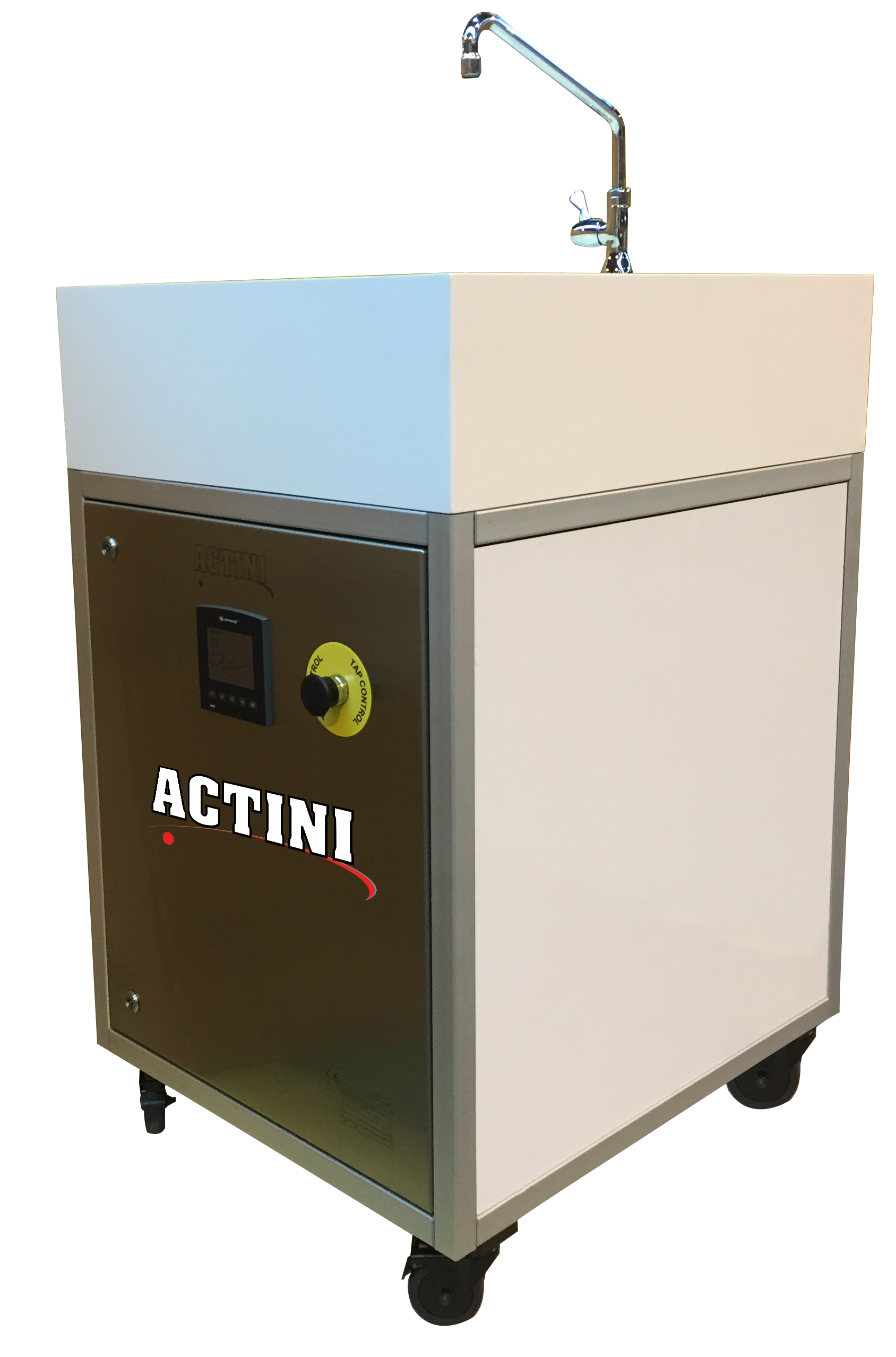ACTINI Sink decontamination system