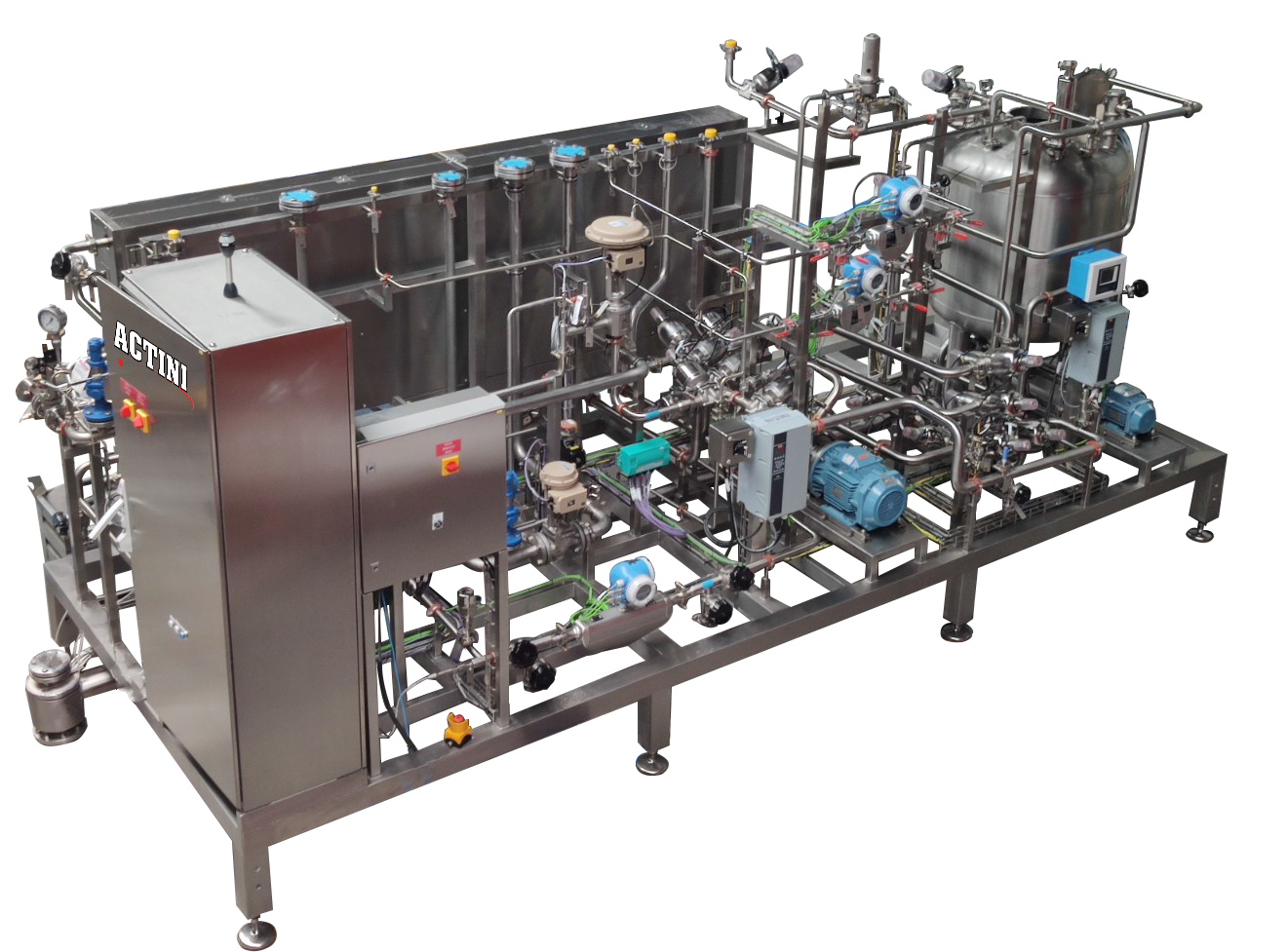 ACTINI - Sterilizer - production range